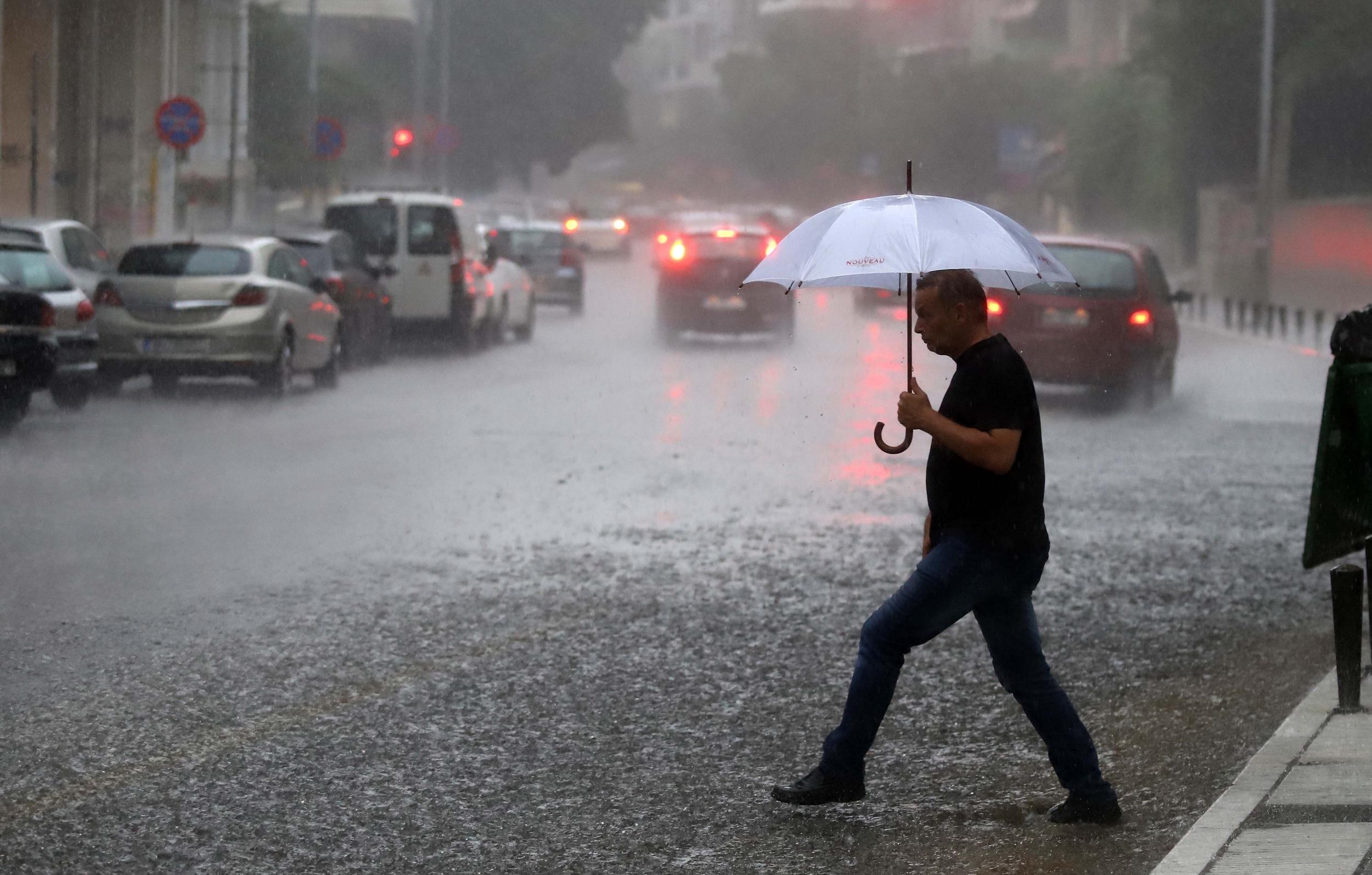 κακοκαιρία - βροχές