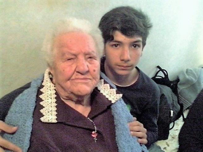 Ιταλία - Ολίβα- γιαγιά