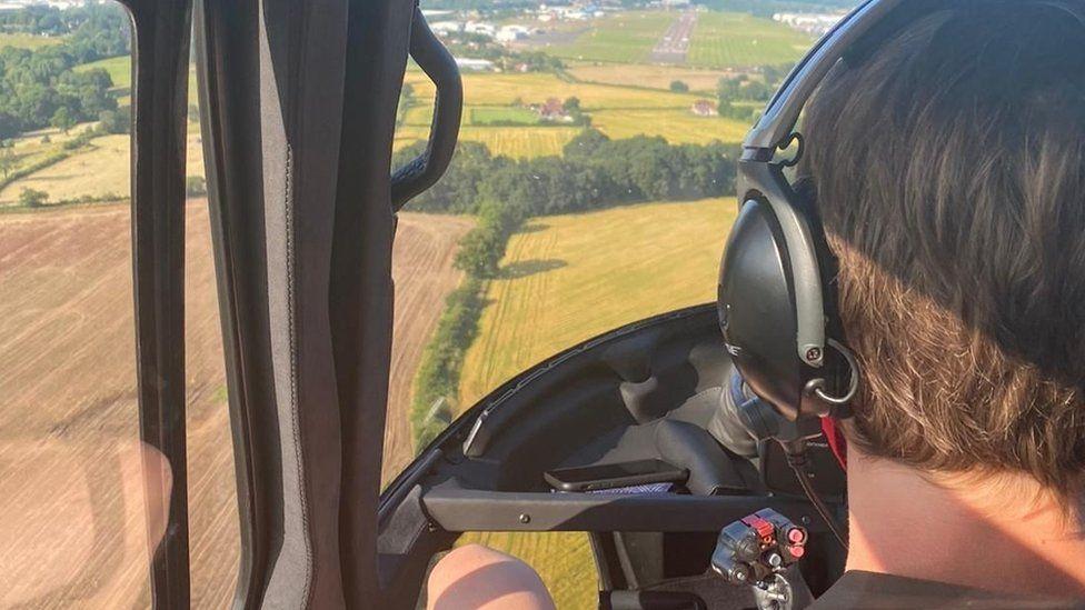 Τομ Κρουζ ελικόπτερο