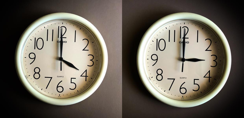 αλλαγή της ώρας