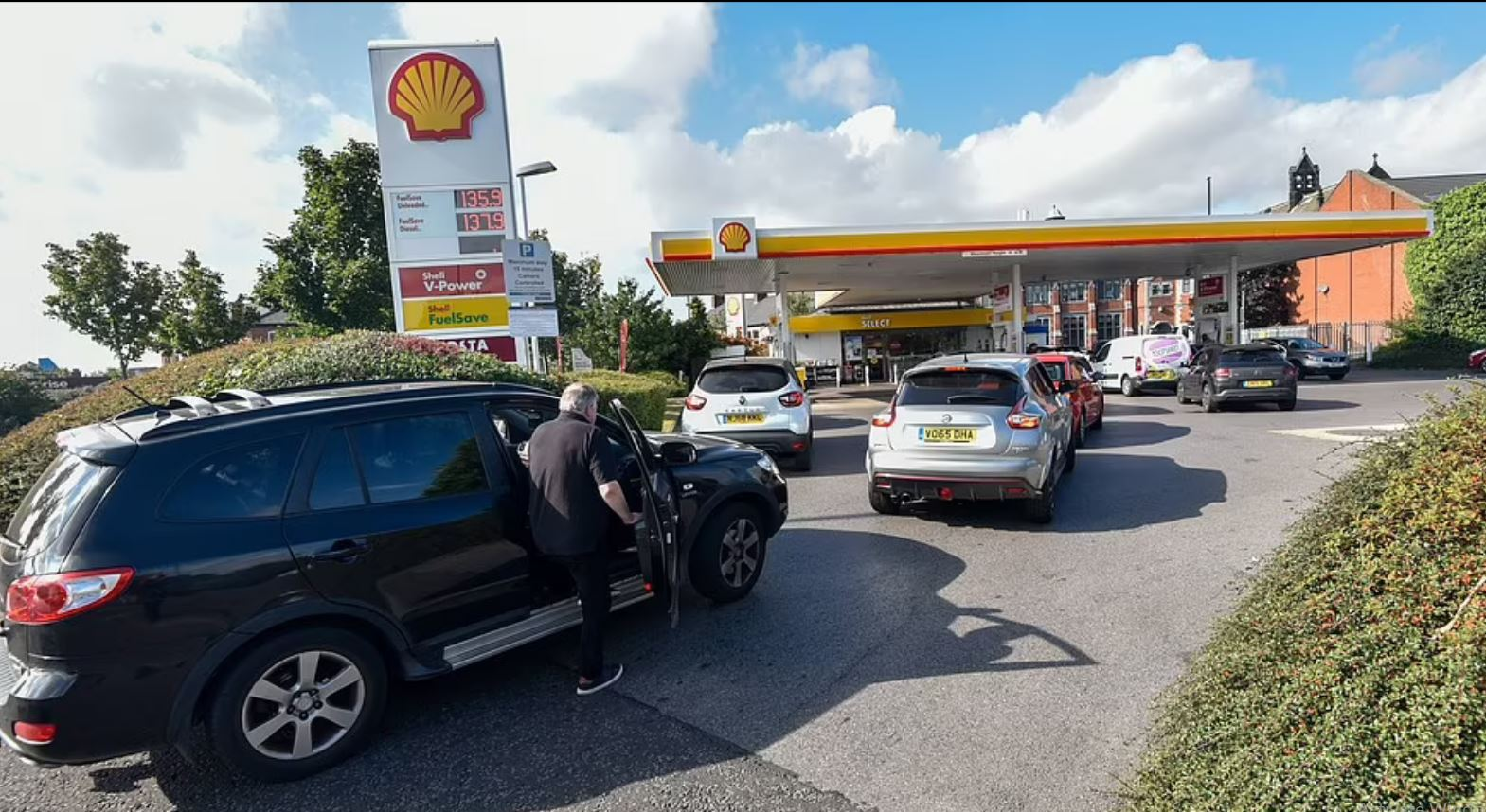 Βρετανία - καύσιμα