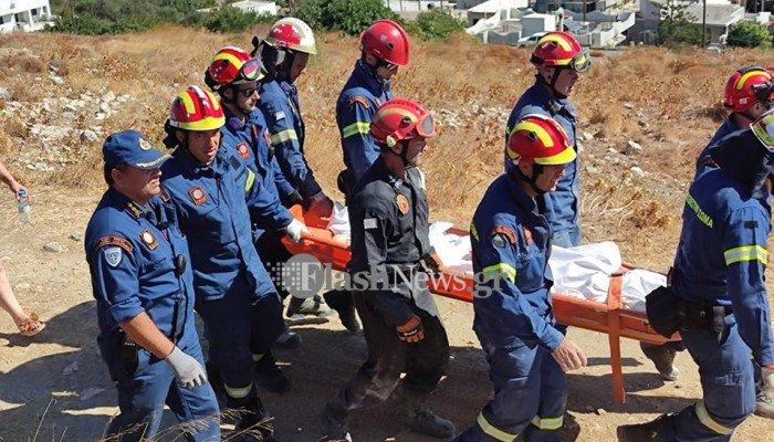 σεισμός στο Ηράκλειο- νεκρός