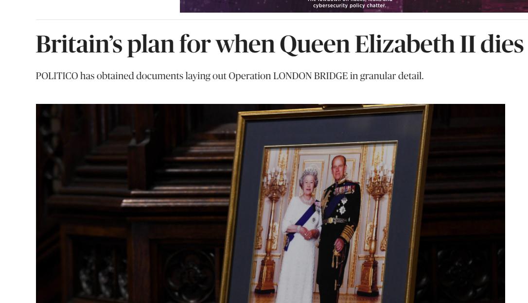 London Bridge Βασίλισσα