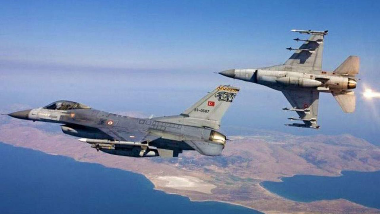 F-16 τουρκικά
