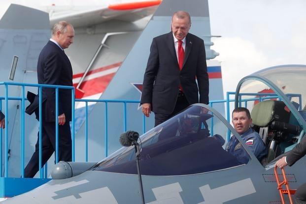F-16 Ρετζέπ Ταγίπ Ερντογάν Βλάντιμιρ Πούτιν