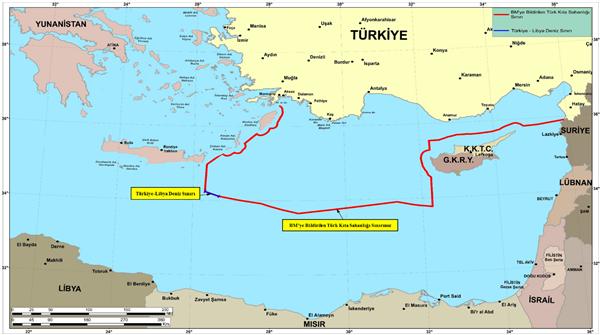 Τουρκία χάρτες Ορούτς Ρέις