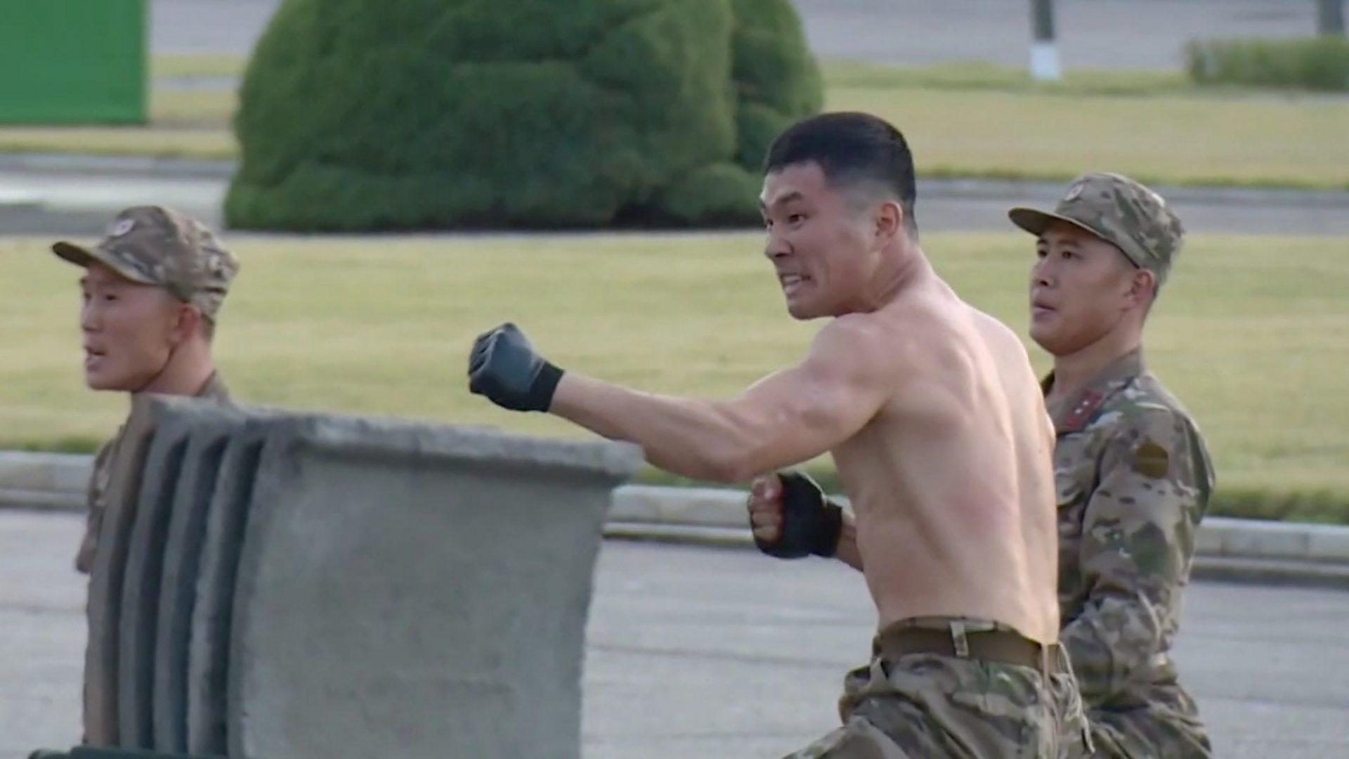 Βόρεια Κορέα στρατιώτες