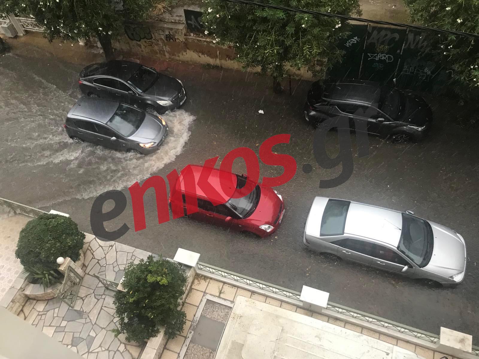 πλημμύρες Φαληρικό Δέλτα