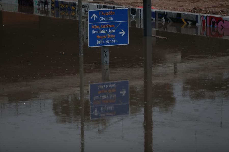 πλημμύρες Αττική
