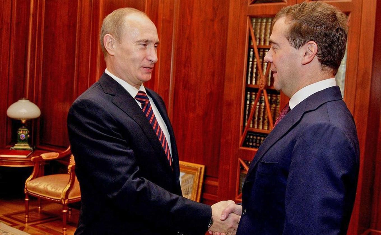Βλαντίμιρ Πούτιν Μεντβέντεφ