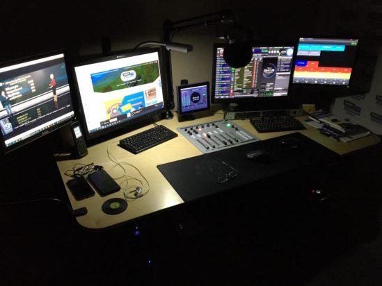 ραδιοφωνικό στούντιο